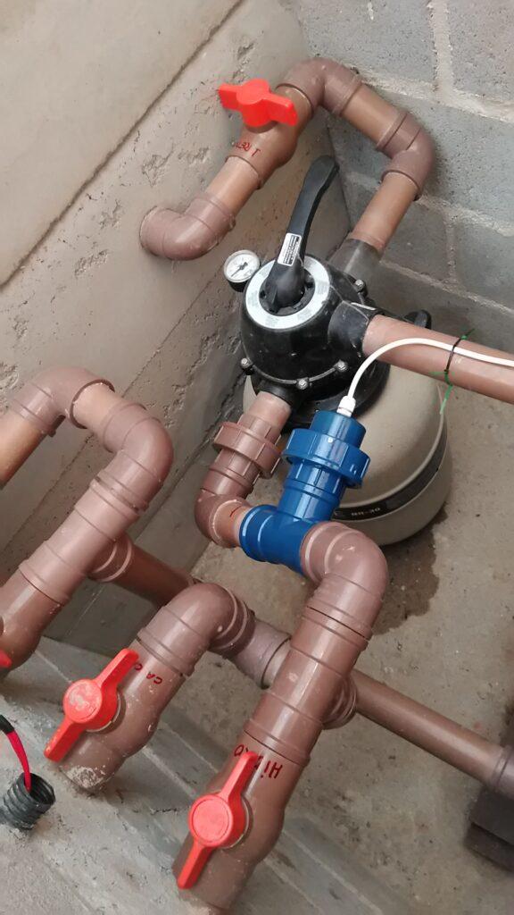 Instalação Aquapex 25