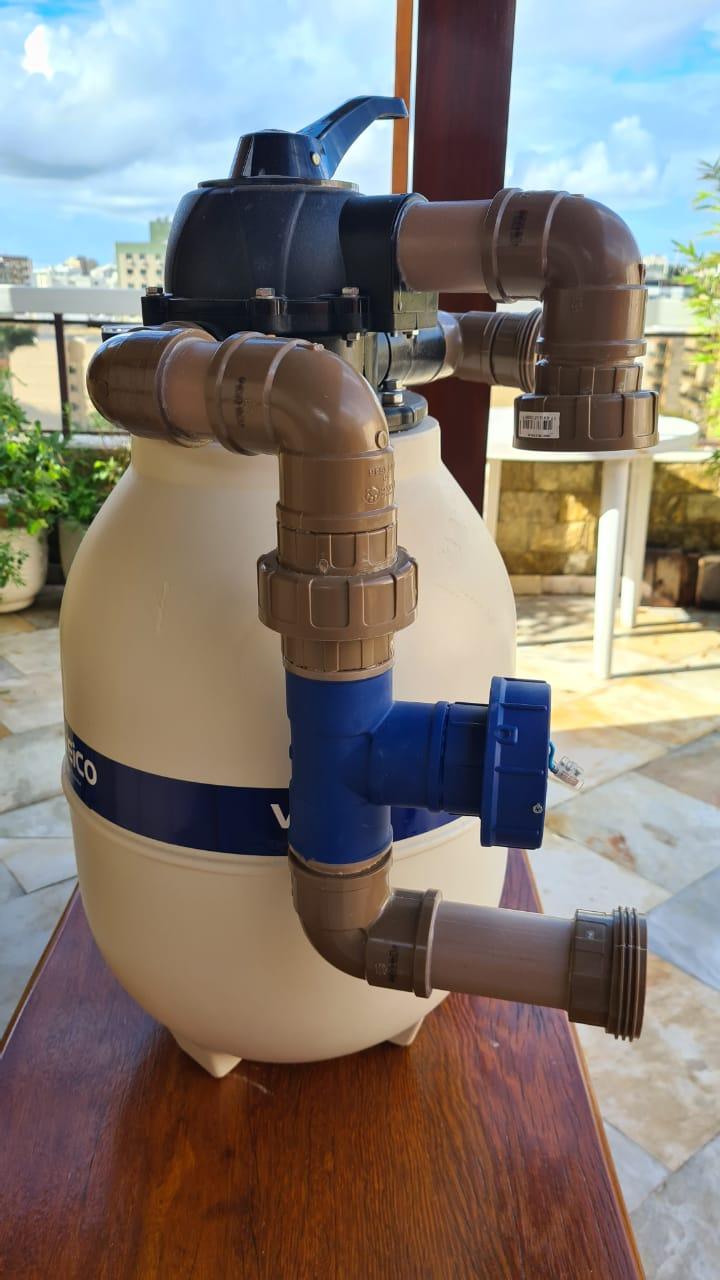 Instalação Aquapex 575